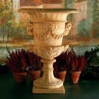Italian Rams Head Urn