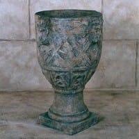 Istrian Floor Urn