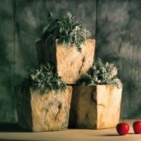 Hewn Stone Planter