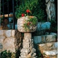 Istrian Bowl on Column