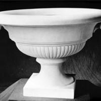 Classical Scrolled Urn