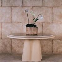 Quatrefoil Table Base
