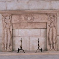 Gothic Medieval Mantel